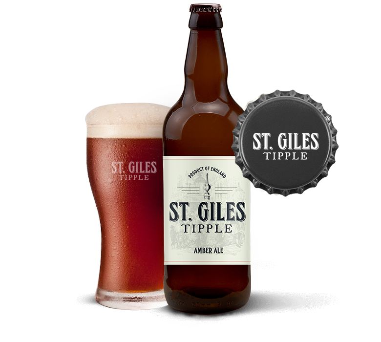 st giles tipple fulll bottle n cup 1